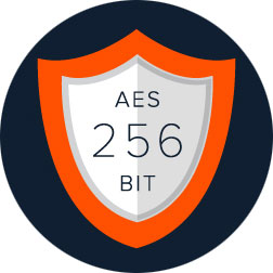 Mullvad AES 256 Encryption