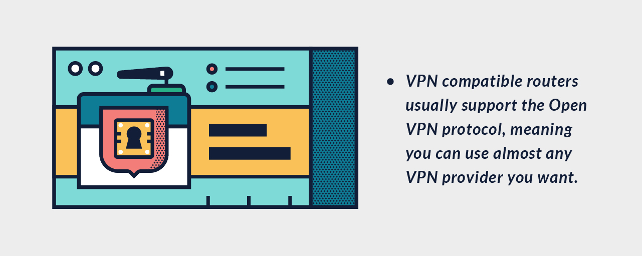 Router Kompatibel VPN yang out-of-the-box